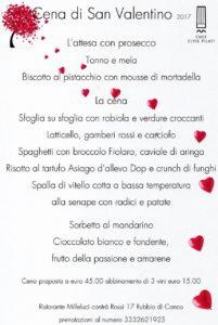 Cena di San Valentino - Ristorante Milleluci @ Ristorante Milleluci