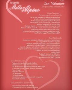 Cena di San Valentino - Locanda Stella Alpina @ Locanda Stella Alpina   Tresché Conca   Veneto   Italia