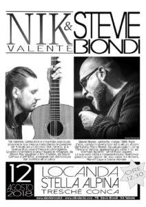 Locanda Stella Alpina: Pranzo in Musica con il duo Nik Valente e Stevie Biondi @ Locanda Stella Alpina | Tresché Conca | Veneto | Italia